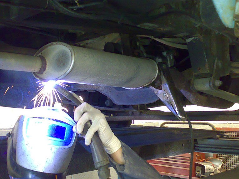 MOT Welding Repairs Broadstone